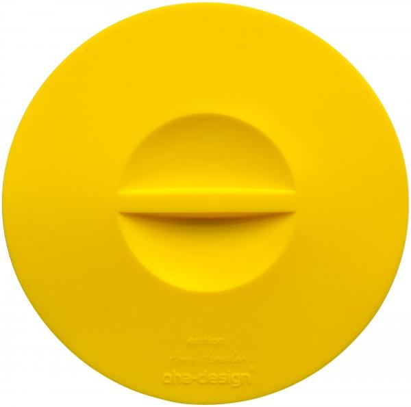 Frischhaltedeckel gelb [2er Set] 160 mm