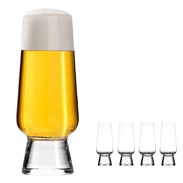 Craft Beer Glas [4er Set]  400ml